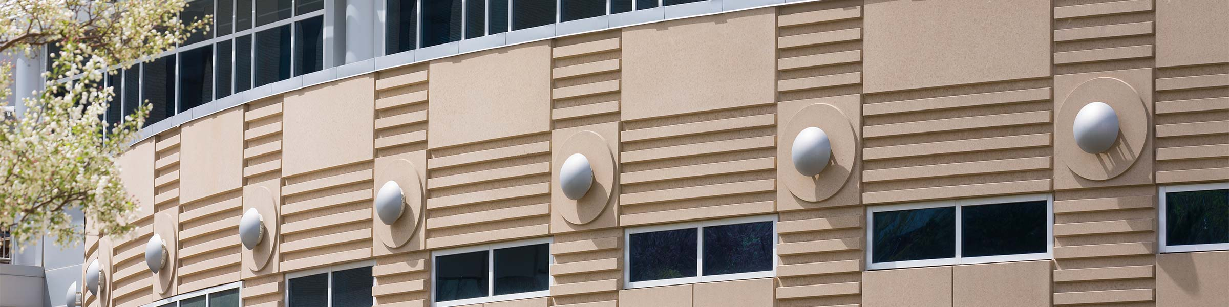 Hixson Lied Science Building on Creighton University Campus in Omaha, Nebraska
