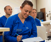 Nursing Student in Classroom
